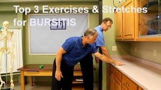 Top 3 Shoulder Bursitis Exercises and Stretches to Eliminate Pain.