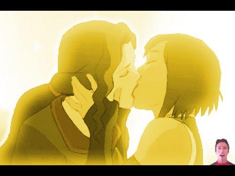 Legend of Korra Book 4 Episode 12 & 13- Series Finale Review: Korra & Asami Kiss?! In Final Season!