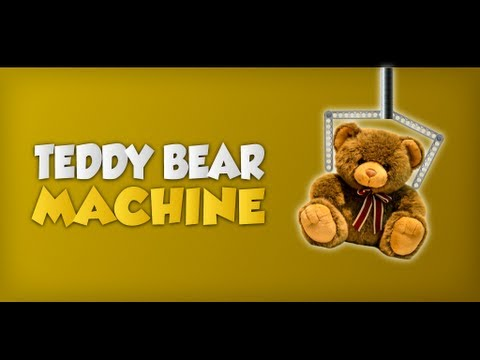 Teddy Bear Machine Game wideo