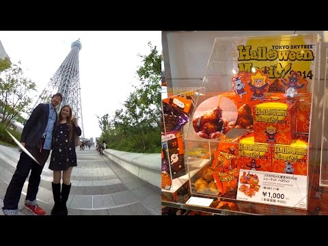 Souvenir from Tokyo SKYTREE (Halloween Chouquette) 東京スカイツリー ハロウィン限定 シューケット (GIVEAWAY CLOSED)