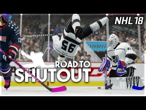 NHL 18 ROAD TO SHUTOUT #11 *NOT THIS AGAIN*