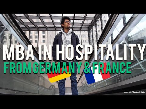 MBA /MASTERS IN HOSPITALITY FROM FRANCE 🇫🇷 , GERMANY 🇩🇪 AND SWITZERLAND 🇨🇭