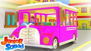 Wheels On The Bus | Nursery Rhymes & Kids Songs | Baby Song