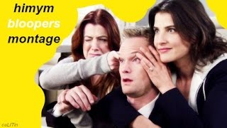 the biggest how i met your mother bloopers montage! | caLITin