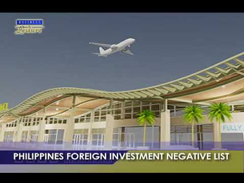 Bizwatch: PHILIPPINES FOREIGN INVESTMENT NEGATIVE LIST - Business