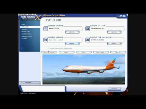 comment installer flight simulator x gold edition