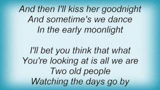Barry Manilow - Not What You See Lyrics