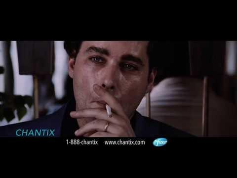 I cut Goodfellas into that Ray Liotta Chantix Ad