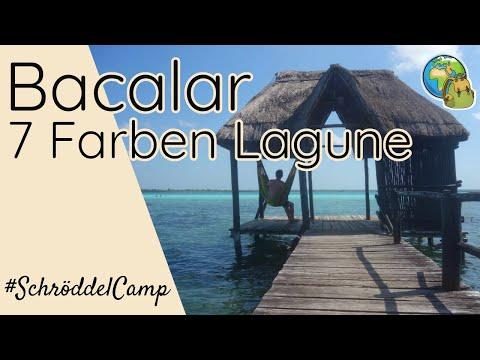 Lagune der 7 Farben in Bacalar: Chillen im Paradies ⦿ Weltreise Vlog #19