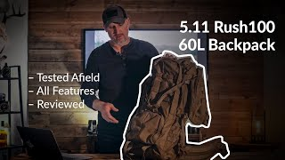 5.11 Rush100 60L Backpack: Tested Afield and Reviewed – Ultimate Upland
