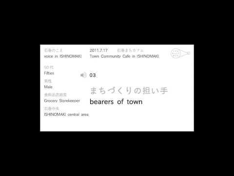 Voice in Ishinomaki – Fifties,Male,Grocery Storekeeper,Ishinomak...