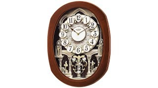 "Grande Encore II 22"" High Motion Wall Clock"
