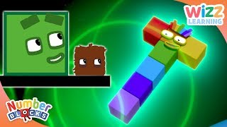Numberblocks - Making Shapes | Learn To Count | Wizz Learning