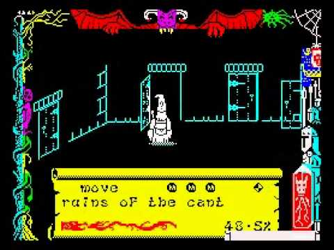 Dragontorc Walkthrough, ZX Spectrum