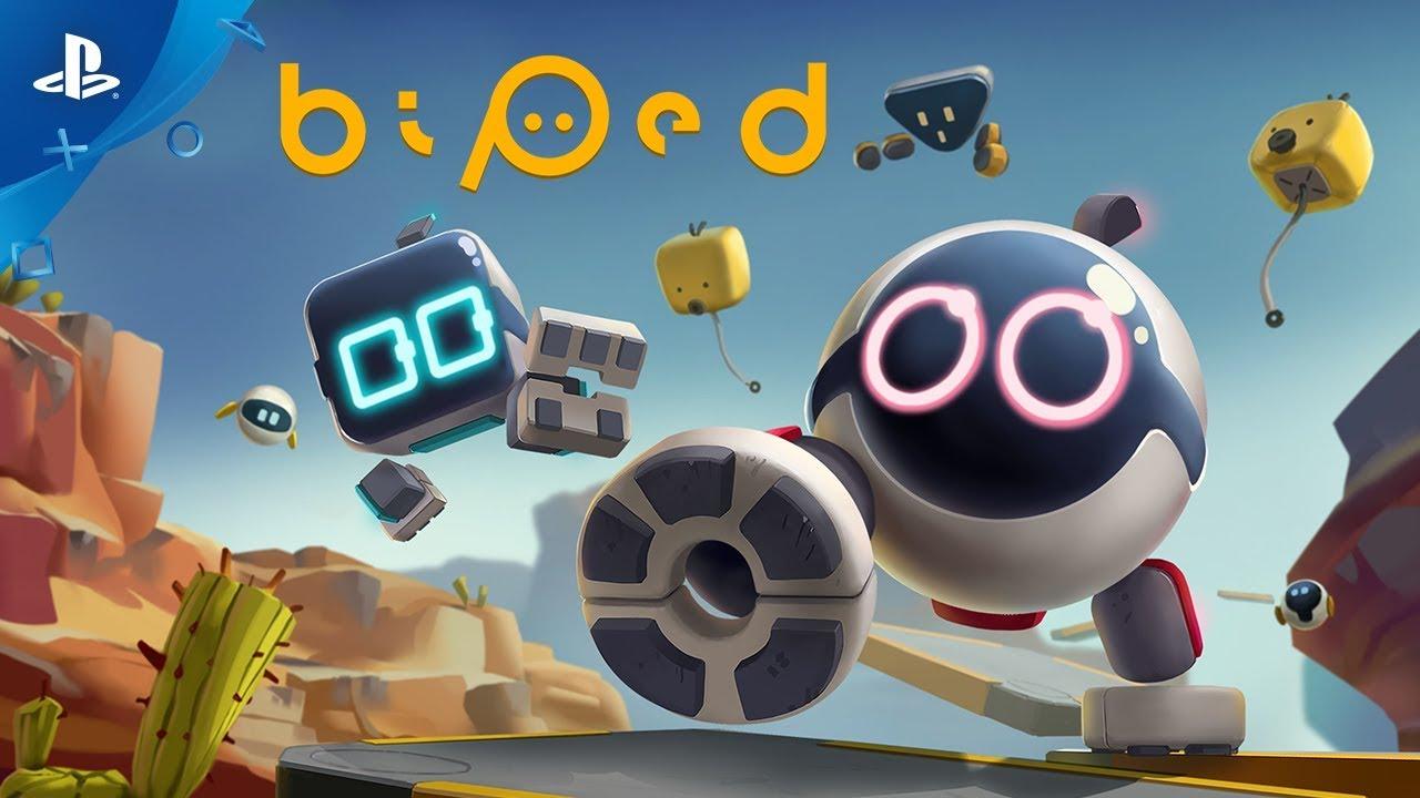 Biped, sarà pubblicato su PS4 l'8 aprile!