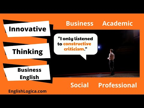 Innovation in Business - Vocabulary
