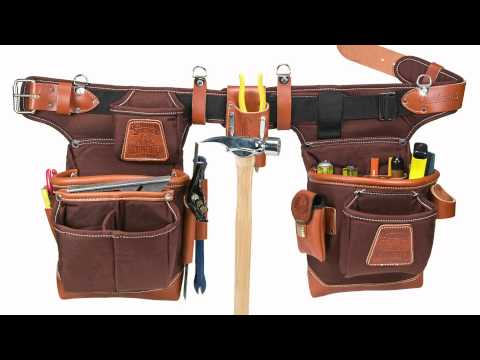 Occidental Leather 9855 Fat LipTool Belt Adjust to Fit Cafe Colored