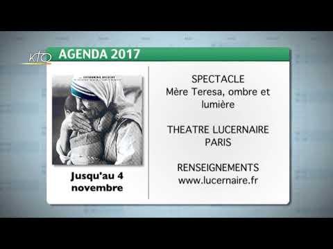 Agenda du 29 septembre 2017