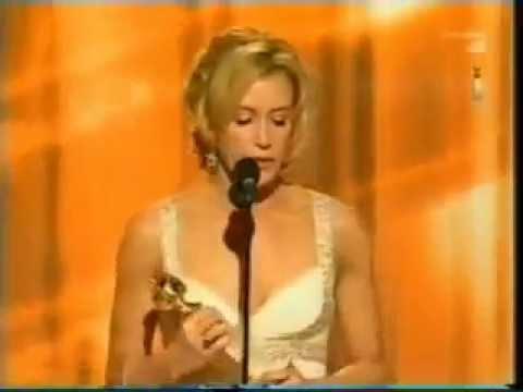 2006 - Felicity Huffman - Wins The Golden Globes Awards