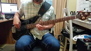 Descendents - Christmas Vacation Bass Cover