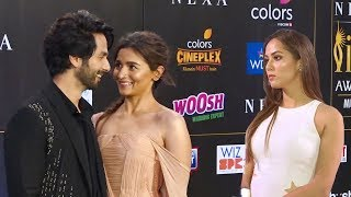 Mira Kapoor's JEAL0US Reaction For Hubby Shahid Kapoor & Alia Bhatt's Closeness Wid Each Other @IIFA