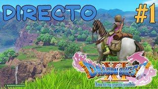Dragon Quest XI - Directo #1 - Español - Guía 100%  - Impresiones - Primeros Pasos - Ps4 Pro