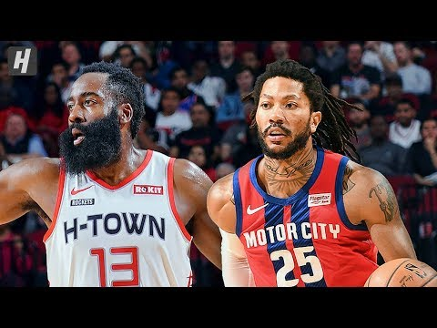 Detroit Pistons vs Houston Rockets - Full Game Highlights | December 14, 2019 | 2019-20 NBA Season