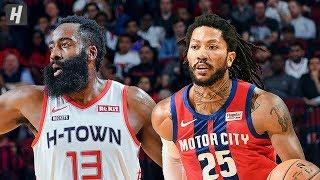 Detroit Pistons Vs Houston Rockets - Full Game Highlights   December 14, 2019   2019-20 Nba Season