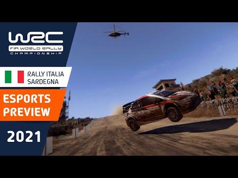 E-sports WRC2021 イタリア プレビュー動画