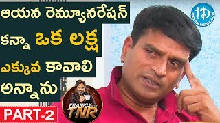 Ravi Babu Exclusive Interview Part #2 || Frankly With TNR || Talking Movies With iDream