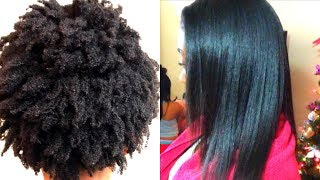 Perfect 4z Hair Silk Press| The Shrinkage Is Real