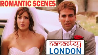 Akshay Kumar & Katrina Kaif Romantic Scenes | Namastey London Scenes | New Hindi Romantic Scenes