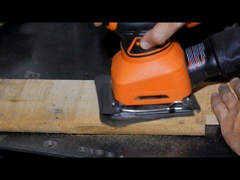 Cómo funciona una lijadora eléctrica - cómo elegirla