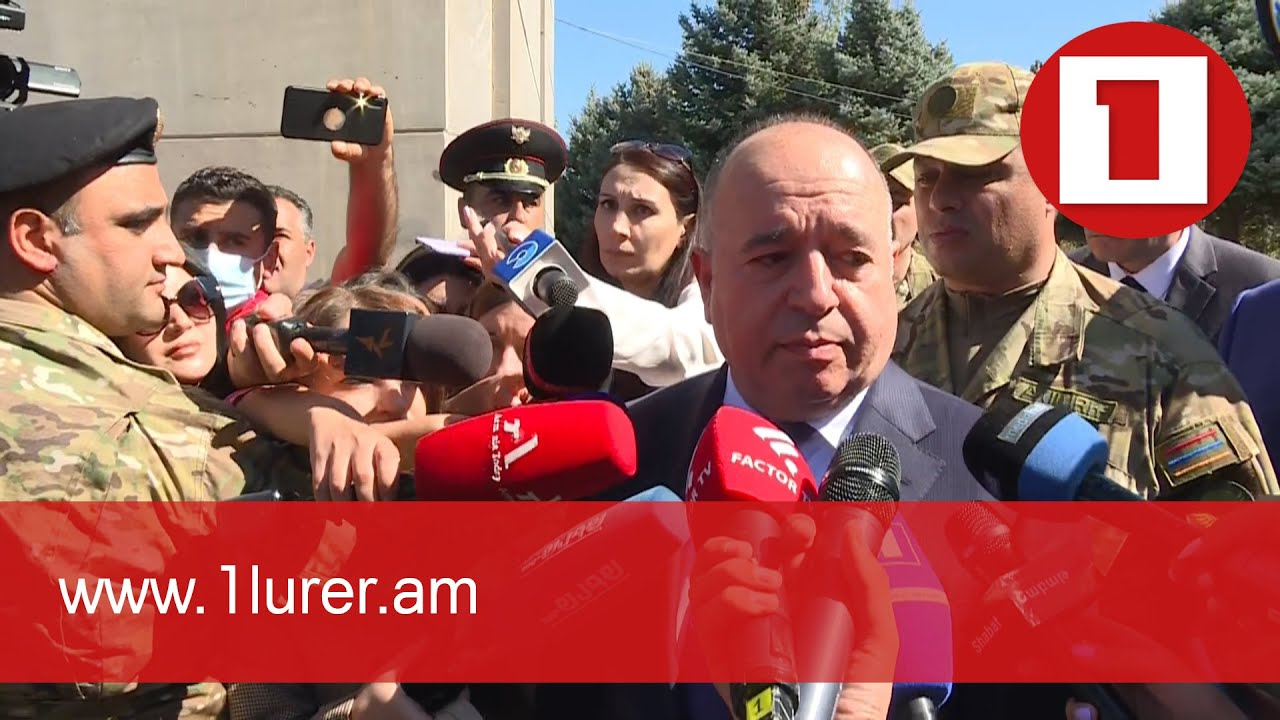 Minister of Defense visited Yerablur