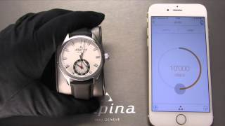 Alpina Horological Smartwatch Tutorial by Alpina Master watchmaker Pim Koeslag