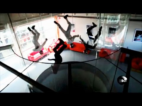 There's Cool Physics Behind These Wind Tunnel Skydiving Acrobatics