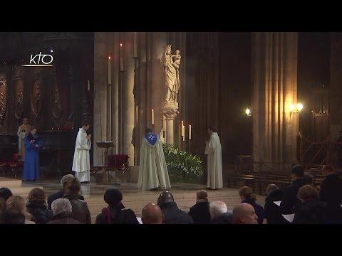 Vêpres du 7 décembre 2016 - Premières Vêpres de l'Immaculée Conception