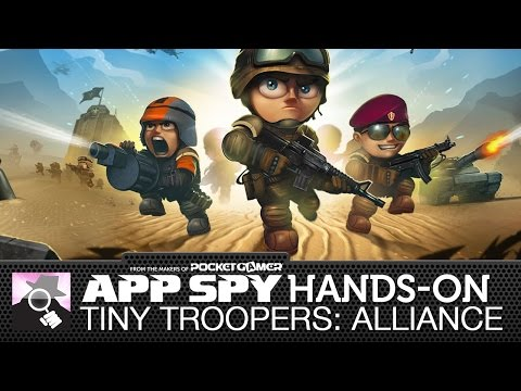 tiny troopers ios gameplay