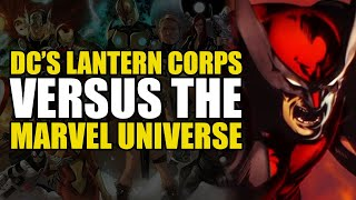DC's Lantern Corps Vs The Marvel Universe - What If: Full Story | Comics Explained