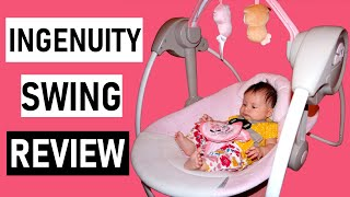 Ingenuity Comfort 2 Go Portable Swing Review