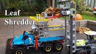 Leaf Shredder - Lego Technic 42070 6x6 All Terrain Tow Truck