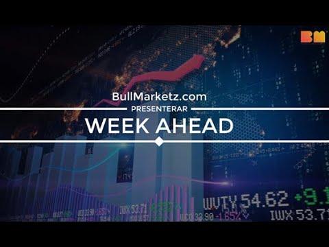 Week Ahead – Vecka 35