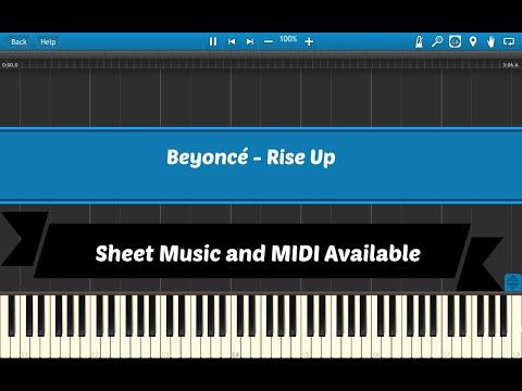 Rise Up - Beyonce [Sheet Music & Midi Download]