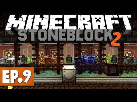 Minecraft StoneBlock 2 - Industrial Foregoing! #9 [Modded