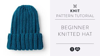 How to Knit a Hat | Beginner Knitting Tutorial with Yarnspirations