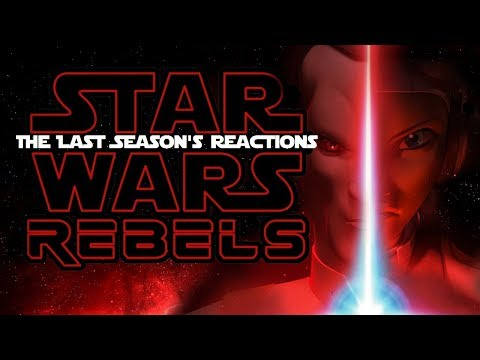 SPOILER WARNING!!! Star Wars Rebels S4, E10 ENDING - The Death Of Caleb Dume ~REACTION!~