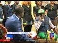 Papa Wemba maitre d'école et ses Musiciens en Promo chez Jacky Ndala