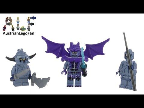 Vidéo LEGO Nexo Knights 853677 : Ensemble d'accessoires Monstres des roches LEGO NEXO KNIGHTS