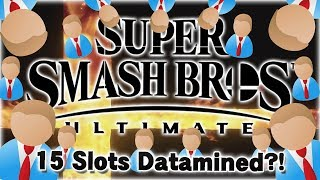 15 Datamined Roster Spots? - Super Smash Bros. Ultimate Datamine Discussion!