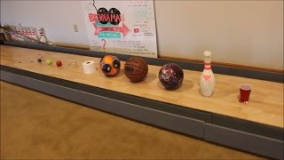 Mini Bowling With Random Objects!